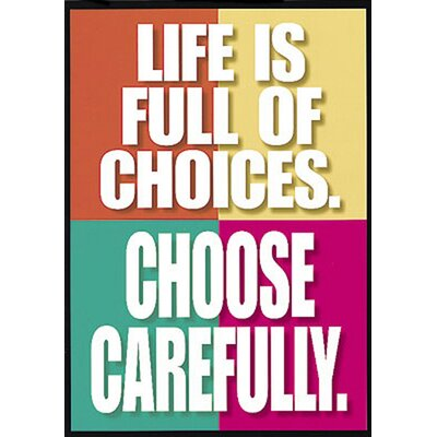 "essays on life choices Free making choices papers, essays and ""stopping by woods on a snowy evening"" by robert frost the poems draw the considering of making choices in life."