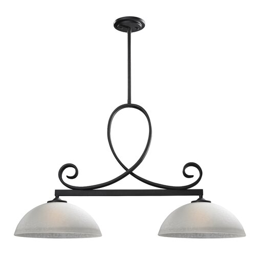 Arshe Two Light Kitchen Island Pendant Wayfair