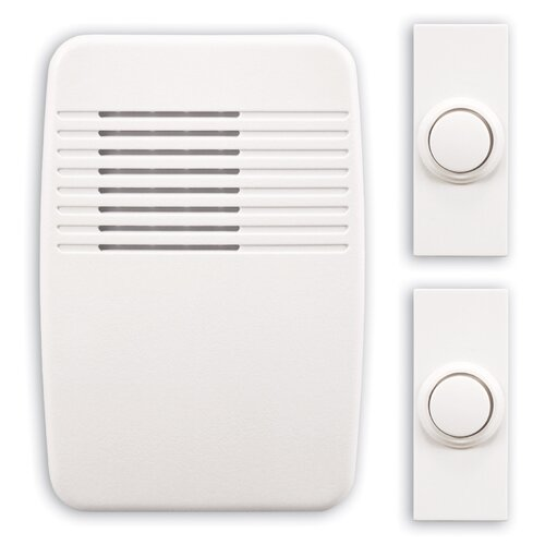 Heath-Zenith Wireless Plug-In Door Chime Kit with Two. - Walmart