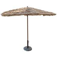 9' Artificial Tiki Thatch Market Umbrella