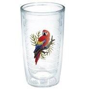 Garden Party Exotic Bird Macaw Tumbler