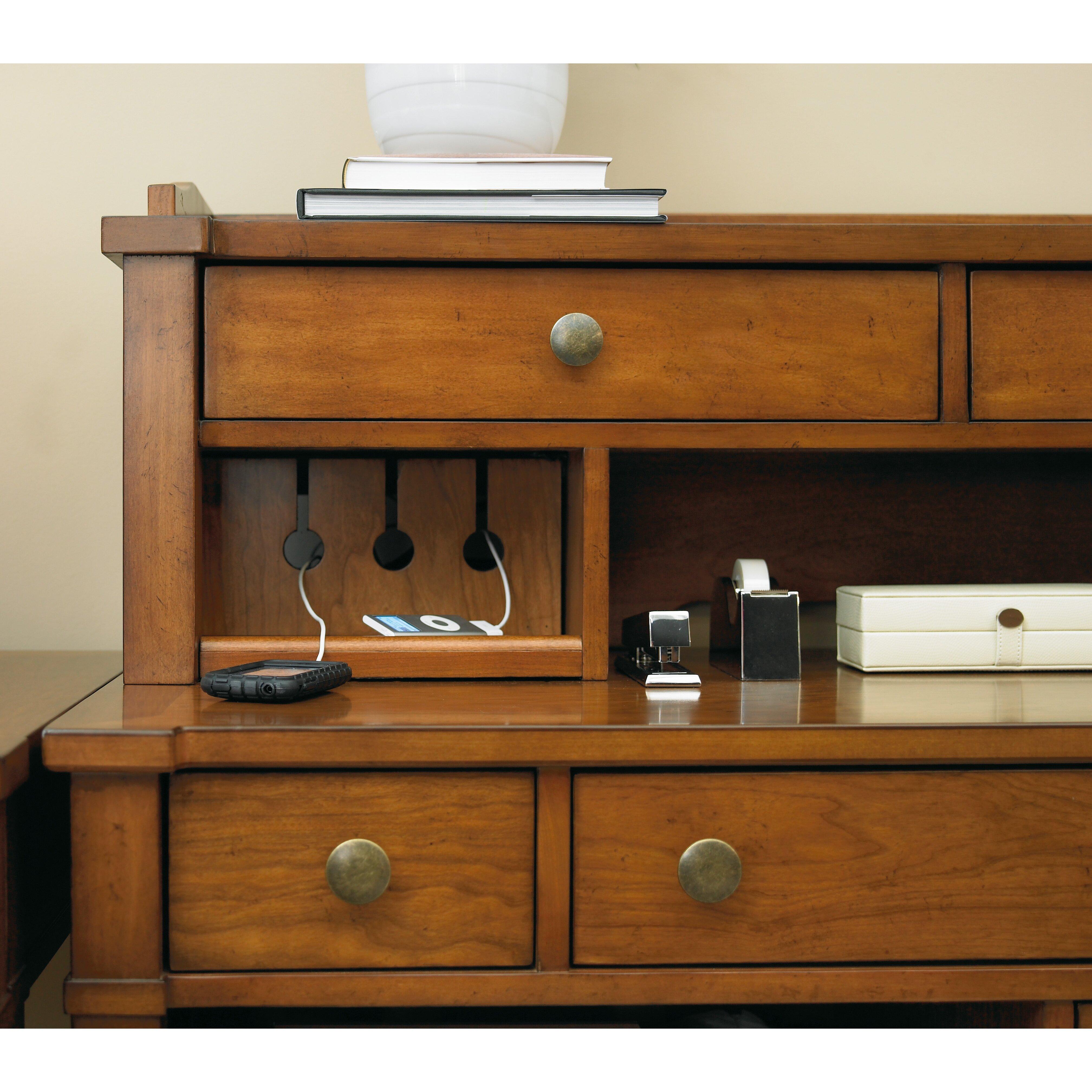Hooker Furniture Abbott Place Smart Hutch Reviews Wayfair Supply