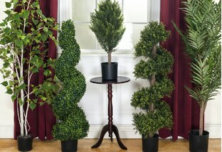 Sculptural Style: Faux Topiaries & More