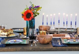 Hosting a Modern Hanukkah Dinner