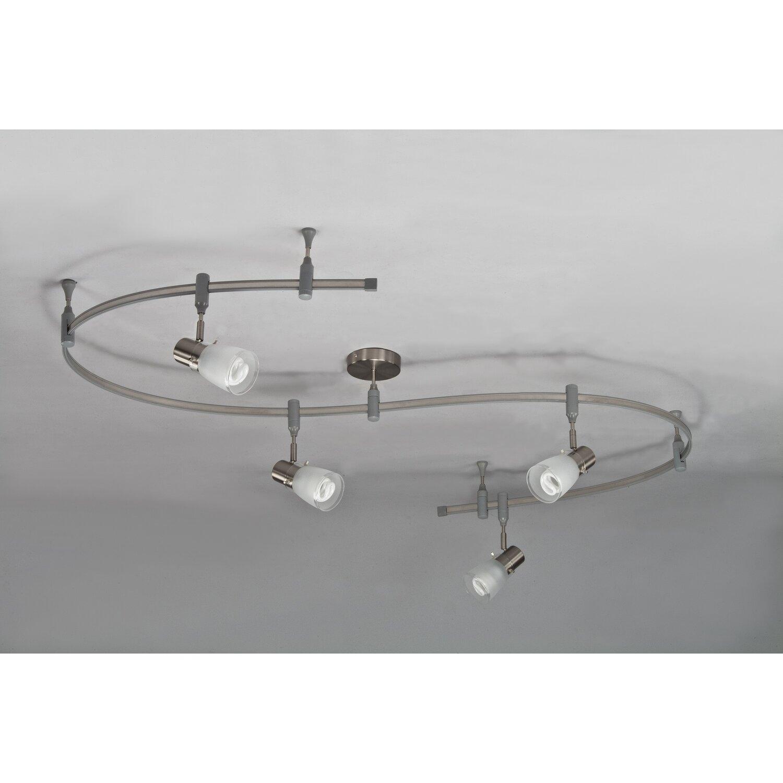 royal pacific 4 light flexible head track lighting kit. Black Bedroom Furniture Sets. Home Design Ideas