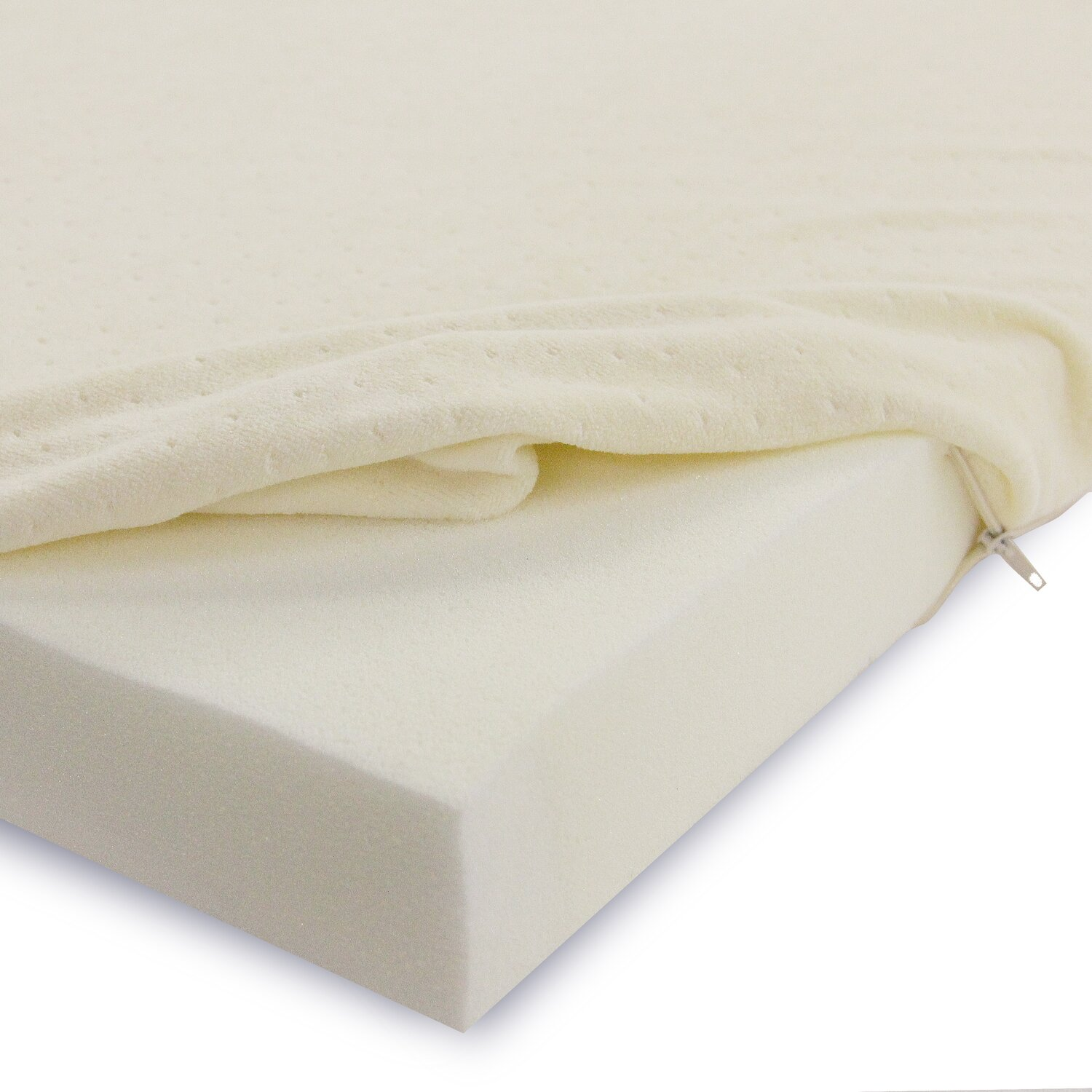 Two Shredded Pillows With This Soft Sleeper 5.5 Twin 4 Inch Memory Foam Mattress Pad Bed Topper Overlay, Soft... Compare Prices