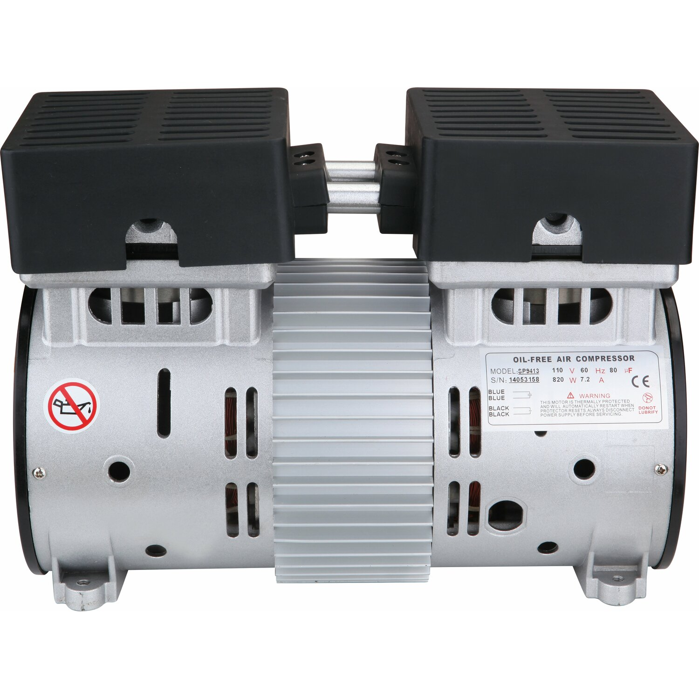 Quiet Air Compressor Reviews Hp Ultra Quiet Oil Free Air Compressor Motor