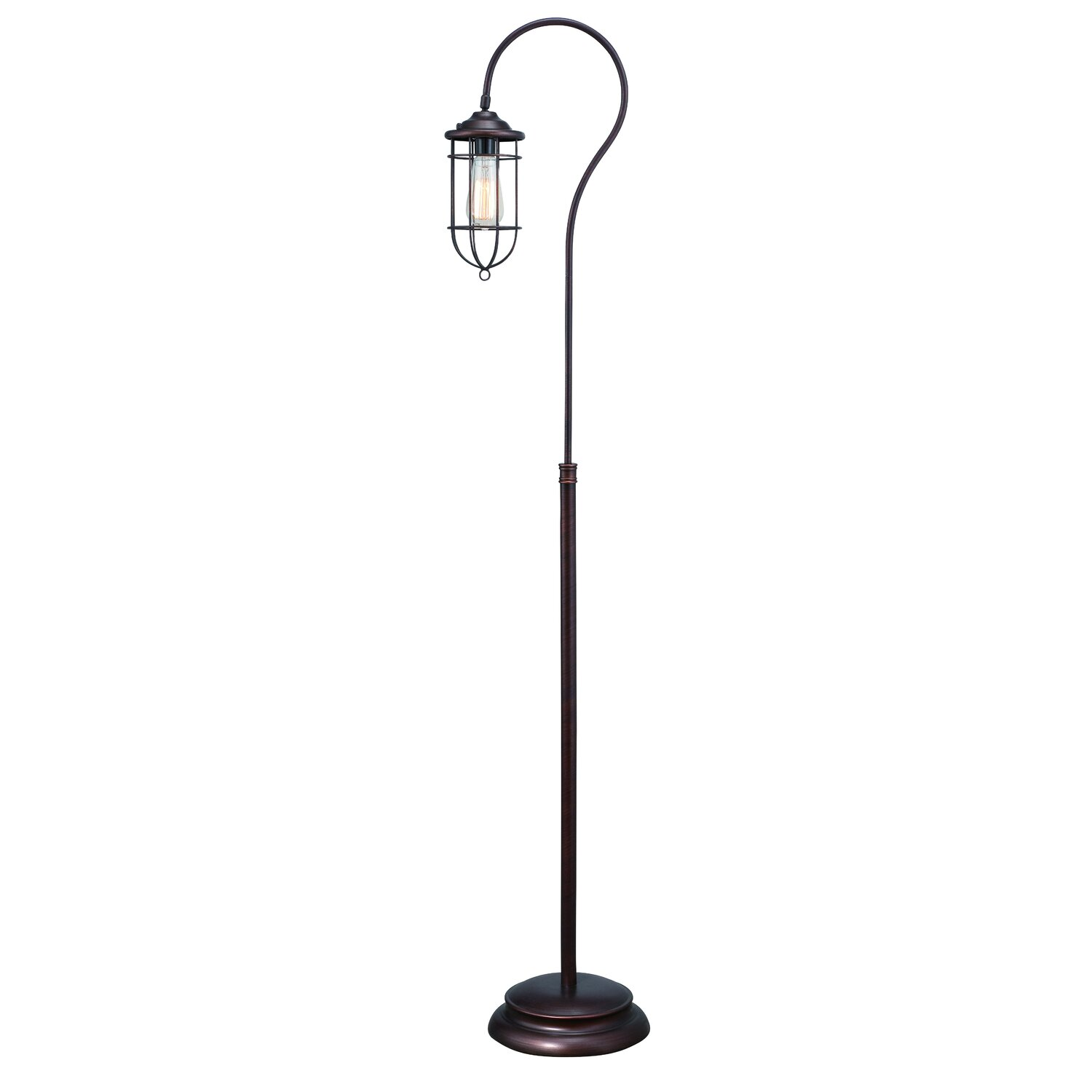 "Normande Lighting Vintage 62"" Floor Lamp"