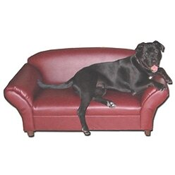 BioMedic Isadora Dog Sofa Sturdy Wooden Frame;height=