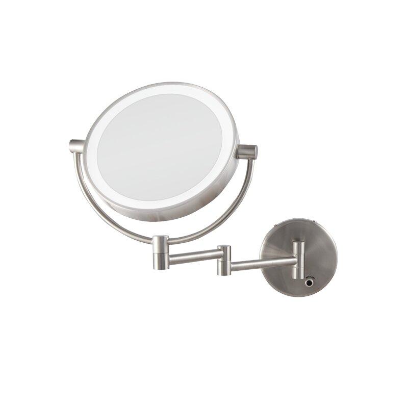 Zadro Next Generation� Cordless LED Lighted Wall Mount Mirror ...