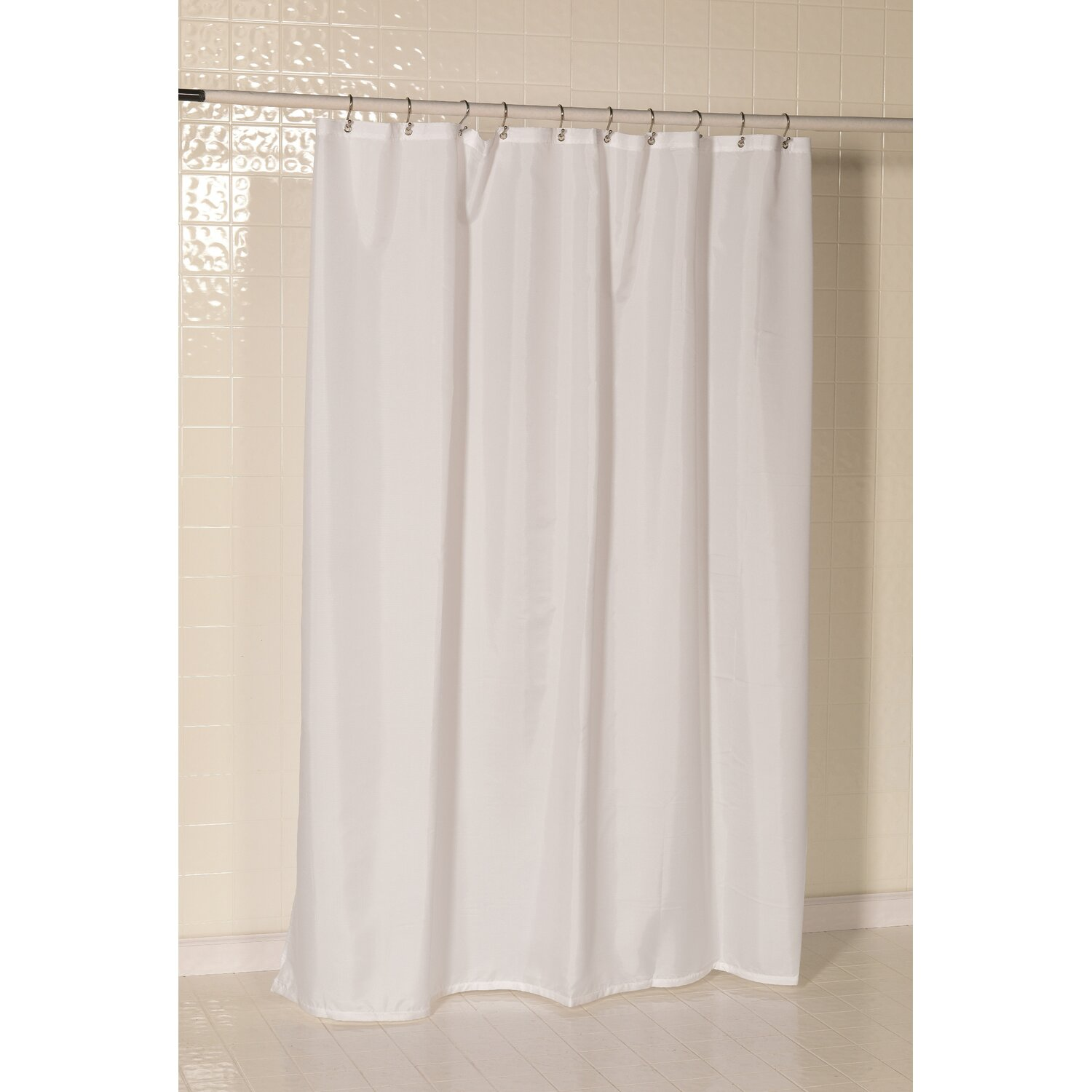 Carnation Home Fashions Shower Curtain Carnation Home Fashions Nylon