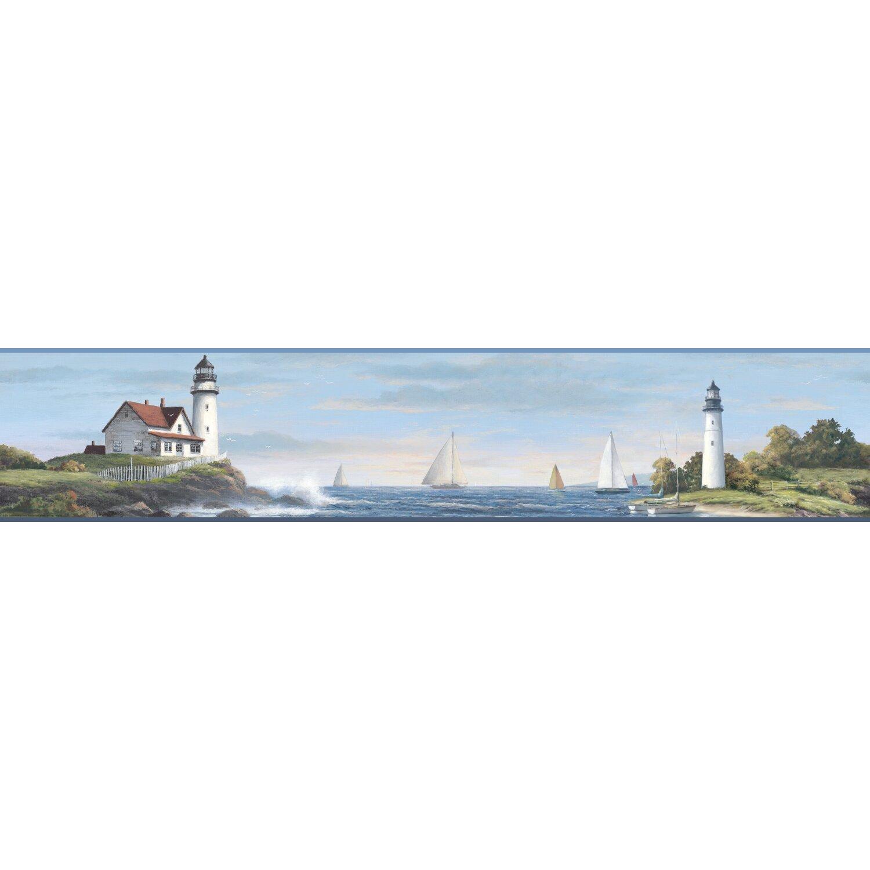 Lighthouse Wallpaper Border