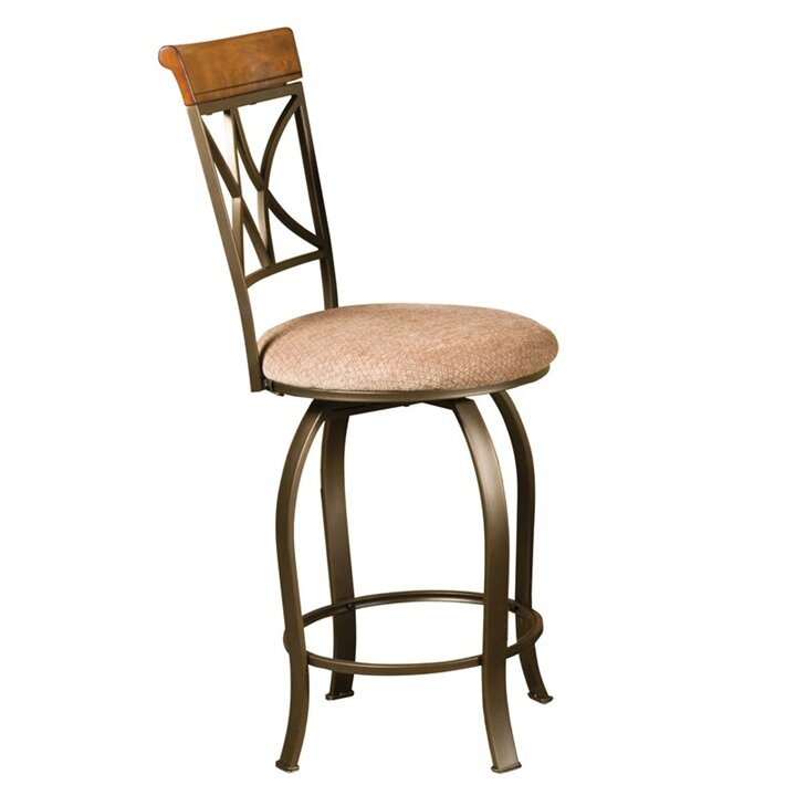 Counter Height Swivel Bar Stools : Details about Swivel Bar Stools Kitchen Counter Height Dining Seat Pub ...