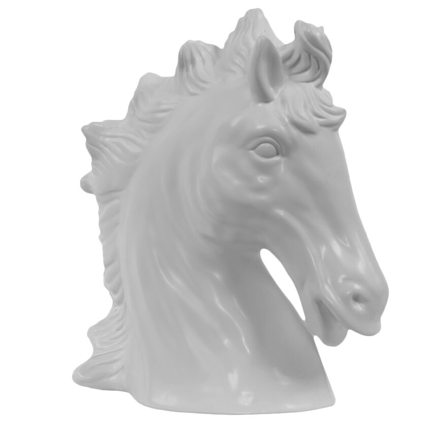 Urban Trends Ceramic Horse Head & Reviews | Wayfair