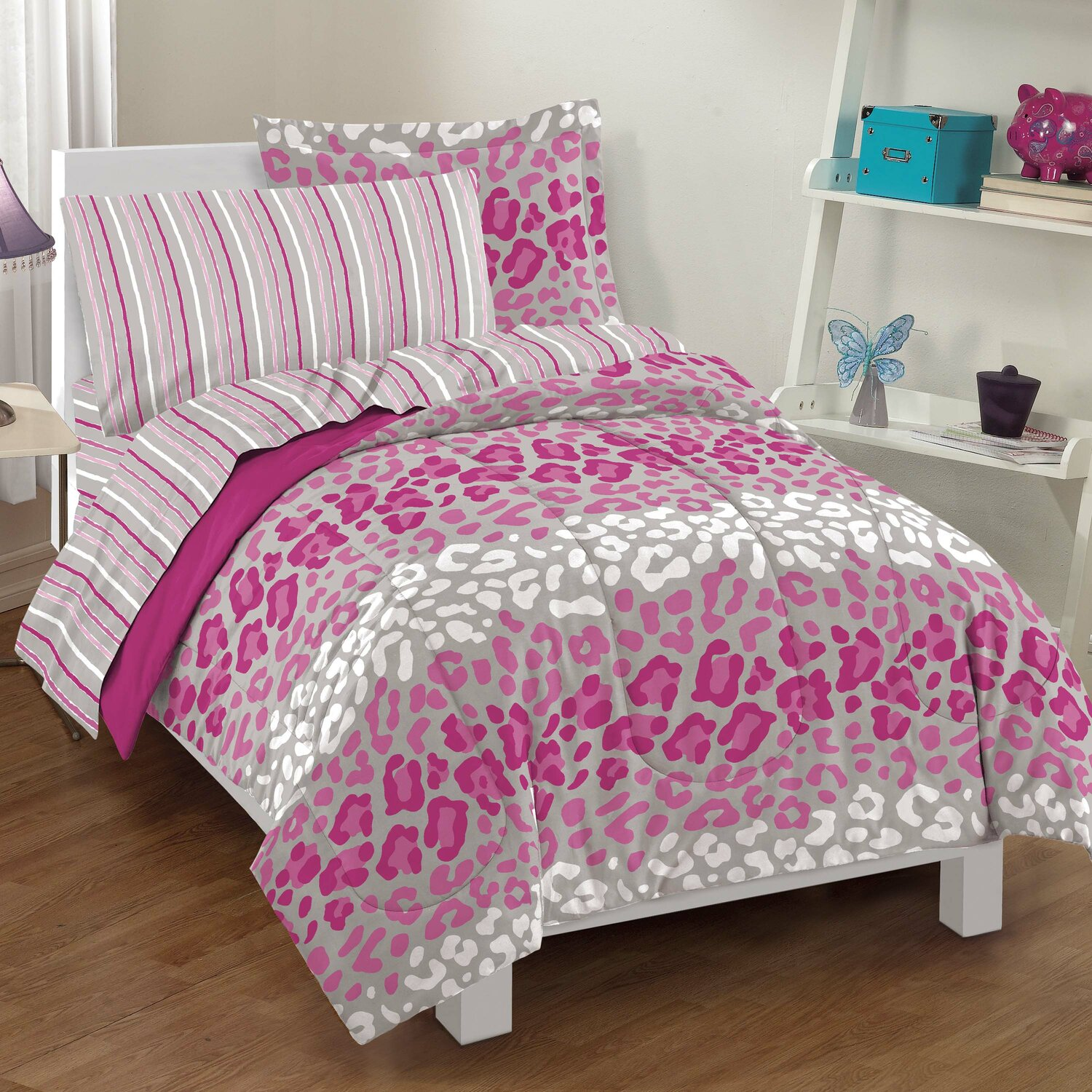 girl unicorn print bed ixlib single small main bedding bedroom sets duvet toddler matalan king cover homeware rails double covers