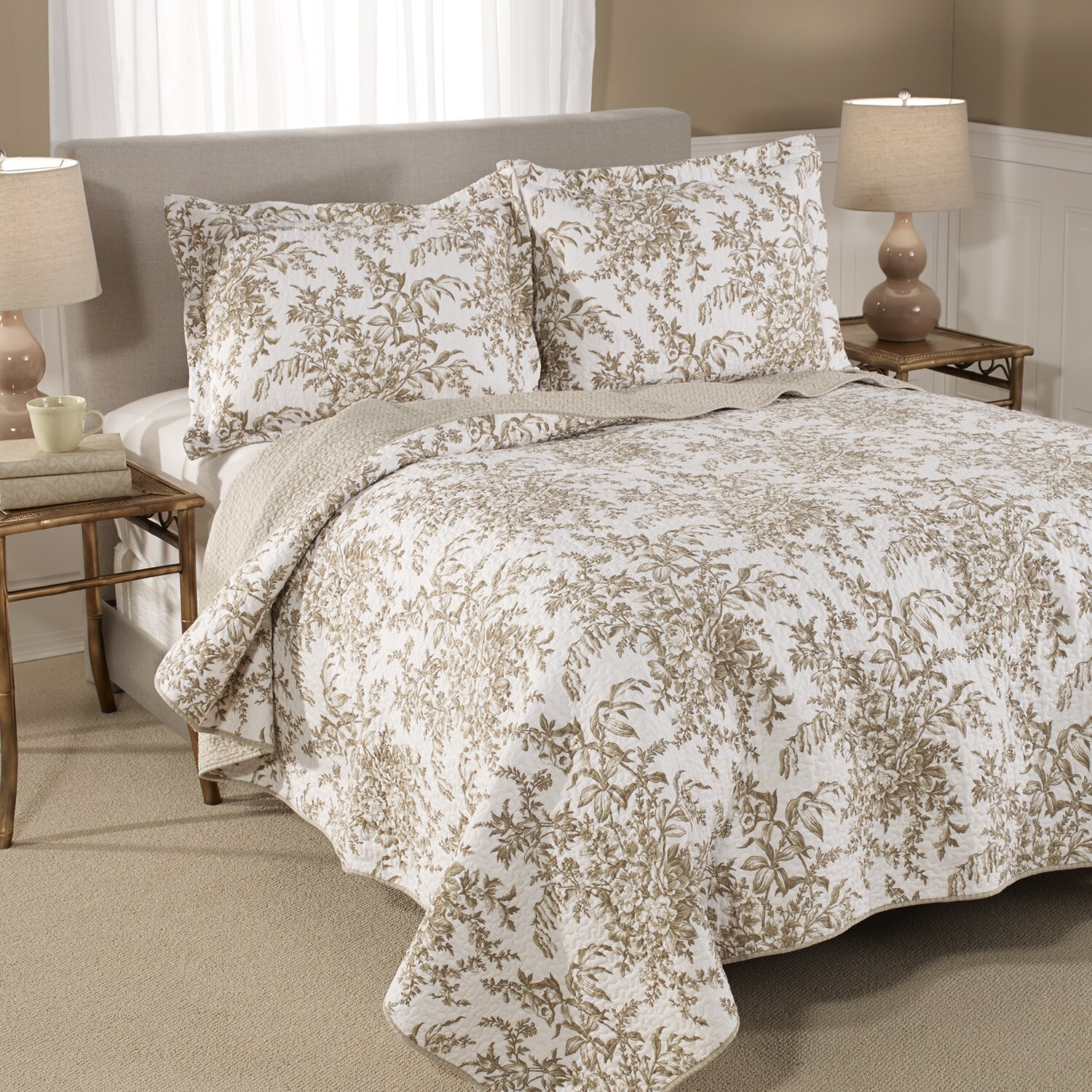 Laura Ashley Bedford Blue Quilt Laura Ashley Home Bedford