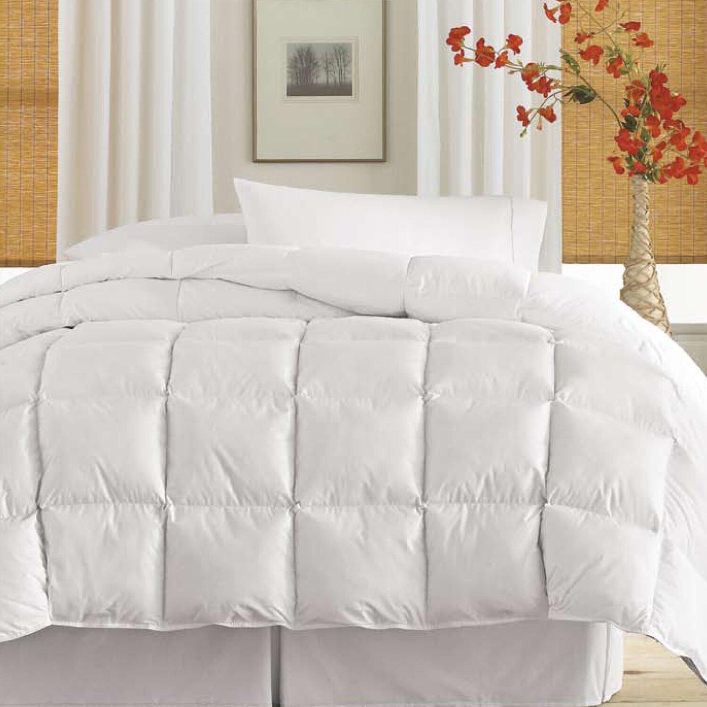 Down Comforter Queen Blue Ridge Home Fashions Thread Count Down Alternative