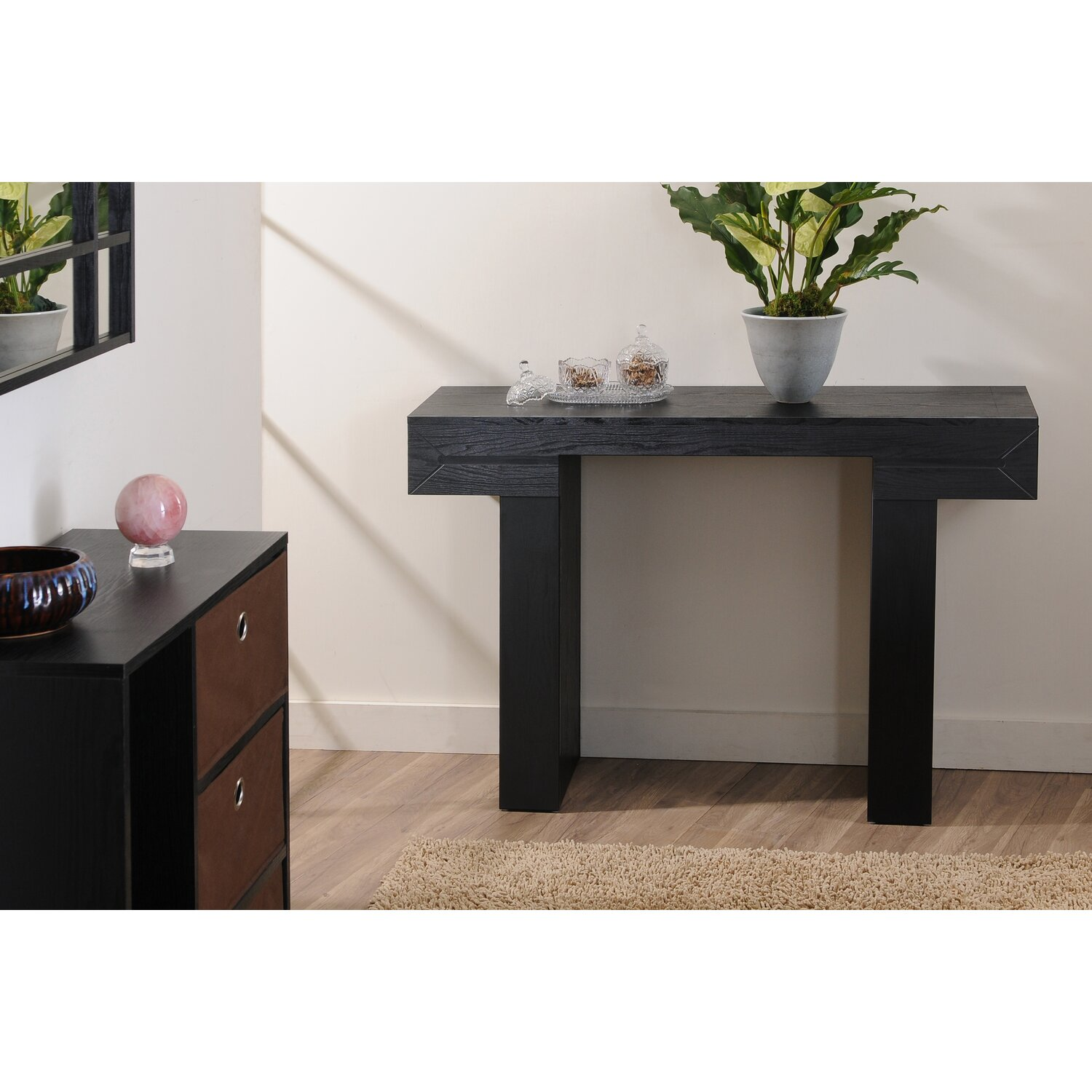 Hokku designs aveline modern console table new house for Consoles murales design