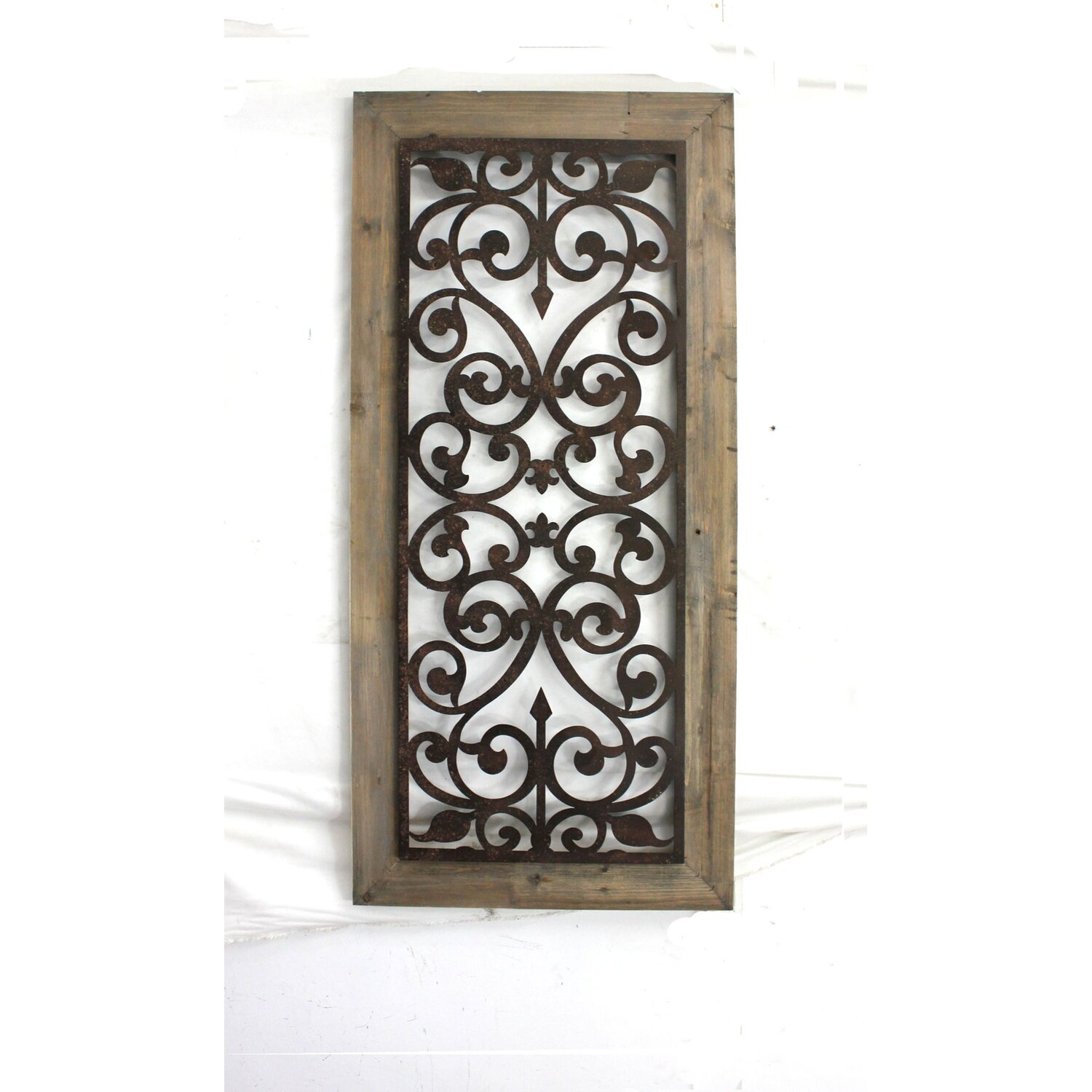wood and metal home decor images