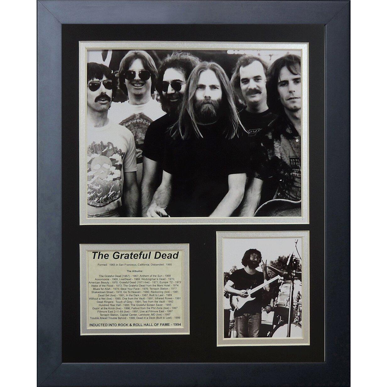 Grateful Dead Framed Memorabilia by Legends Never Die
