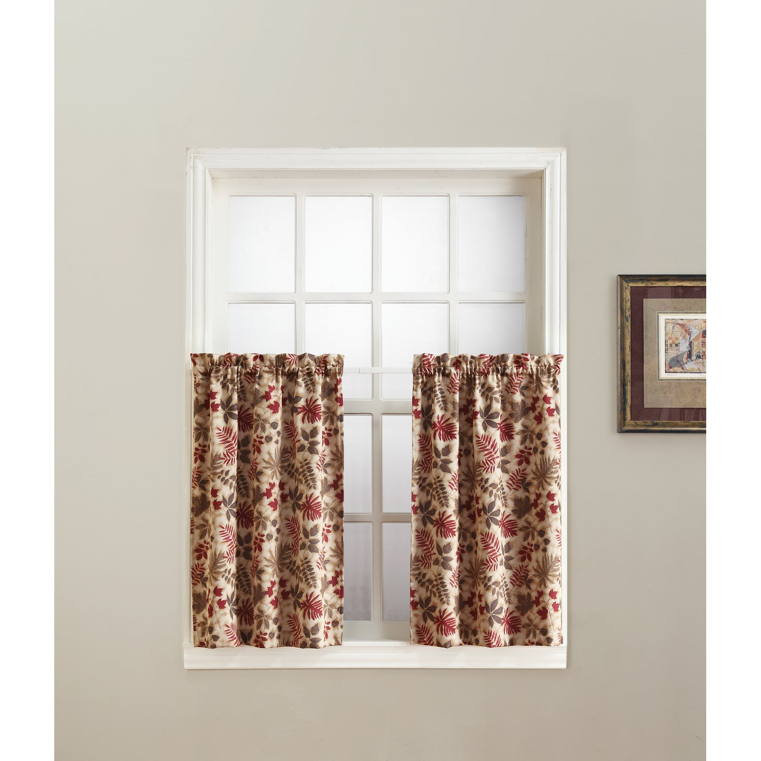 Woodland Tier Curtains