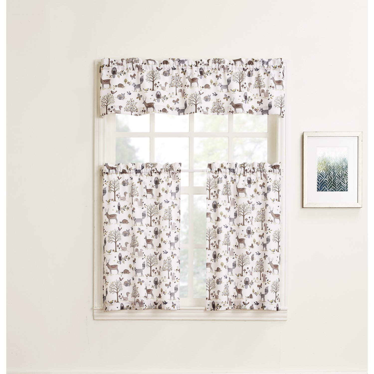 Forest Friends Valance & Tiers from Wayfair!