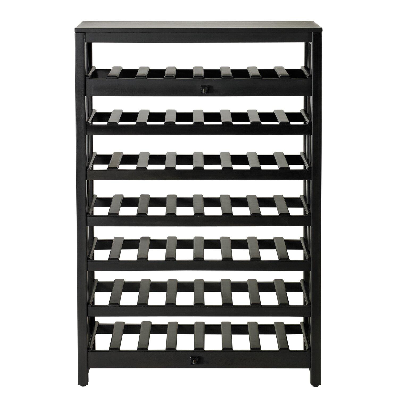 Details About Wine Rack Display Bottle Holder Kitchen Cabinet Wood Bar