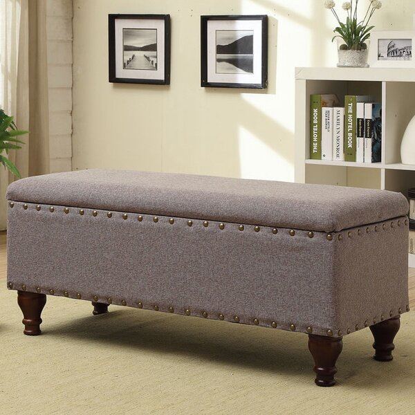 Upholstered storage entryway bench hallway seat organizer for Benches for living room seating