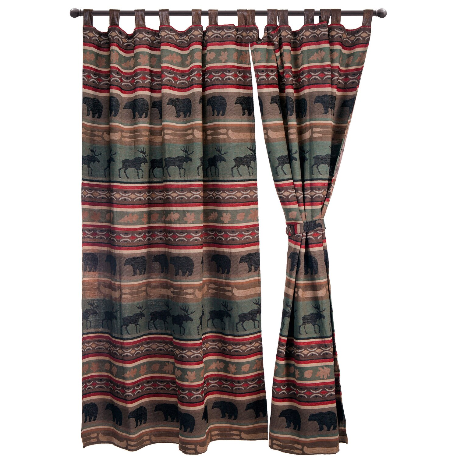 Backwoods Drape Set