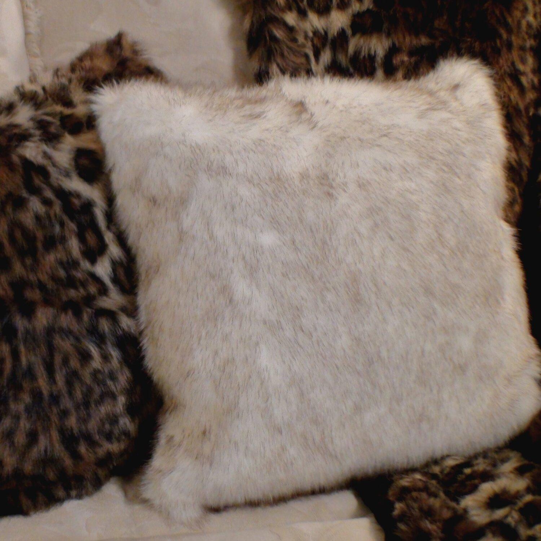 tanning fox pelts  hd photos gallery - posh pelts arctic fox faux fur pillow cover