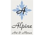 Alpine Art and Mirror