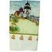 Textiles Plus Inc. Printed Light House Kitchen Towel