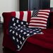 In2Green USA Flag Cotton Throw Blanket