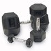 Muscle Driver USA Rubber Coated Hex Dumbbells
