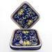 """Le Souk Ceramique Citronique Design 9"""" Square Plates"""