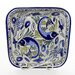 Le Souk Ceramique Aqua Fish Design Serving Bowl