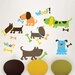 Art Kit Puppy Love Wall Decal