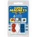 Master Magnetics Posting Magnets (Pack of 6)