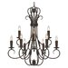 Porter 9 Light Chandelier