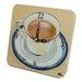 Lexington Studios Home and Garden Coffee Cup Tiny Times Clock