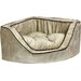 Snoozer Pet Products Luxury Corner Bolster Dog Bed