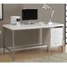 Monarch Specialties Inc. Alyssa 3 Drawer Writing Desk