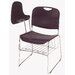 "National Public Seating 17"" Plastic Tablet Arm Chair"
