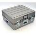 Platt Heavy-Duty ATA Case with Wheels and Telescoping Handle in Gray: 23 x 25 x 10