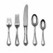 Towle Silversmiths Sterling Silver Old Newbury 5 Piece Dinner Flatware Set