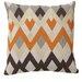Kosas Home Global Bazaar Bijou Echo Linen Throw Pillow
