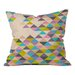 DENY Designs Bianca Green Completely Incomplete Throw Pillow