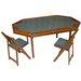 """Kestell Furniture 72"""" Deluxe Maple Folding Poker Table Set"""