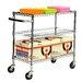 Trinity EcoStorage™ 3 Tier NSF Utility Cart