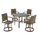 Home Styles Urban Outdoor 5 Piece Dining Set